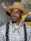 Andre Benjamin during 'Four Brothers' New York City Premiere Inside Arrivals at Clearview's Chelsea West Cinemas in New York City New York United...