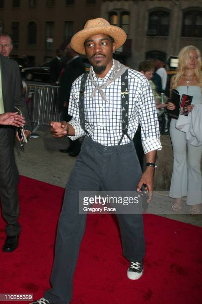 Andre Benjamin during 'Four Brothers' New York City Premiere Outside Arrivals at Clearview Chelsea West in New York City New York United States