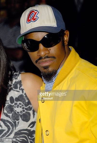 Andre Benjamin during Outkast Signs Their New CD 'Idlewild' at Virgin Megastore August 22 2006 at Virgin Megastore Times Square in New York City New...