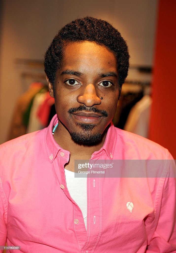 Andre Benjamin visits Holt Renfrew Bloor Street to launch his 'Benjamin Bixby' menswear Spring 2009 collection on March 10, 2009 in Toronto, Canada.