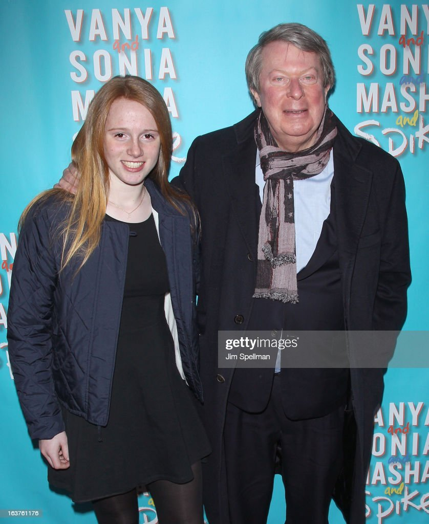 Andre Bishop (R) attends the 'Vanya And Sonia And Masha And Spike' Broadway opening night at The Golden Theatre on March 14, 2013 in New York City.