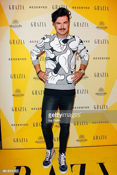 Andre Borchers attends the GRAZIA POP UP Breakfast on January 20 2015 in Berlin Germany
