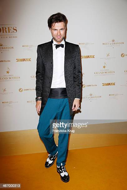 Andre Borchers attends the Moet Chandon Grand Scores at Kaufhaus Jandorf on February 05 2014 in Berlin Germany