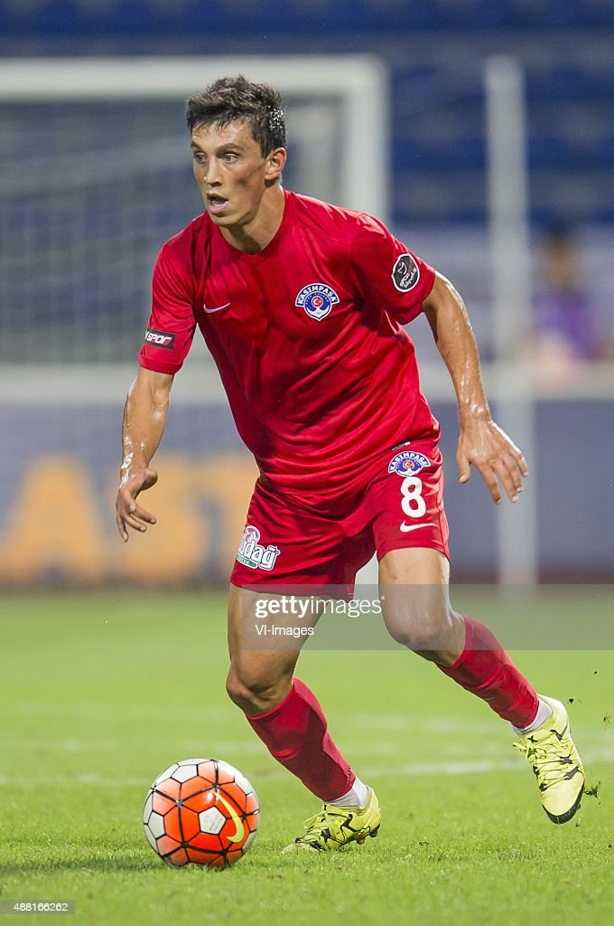 <a gi-track='captionPersonalityLinkClicked' href=/galleries/search?phrase=Andre+Castro&family=editorial&specificpeople=7124527 ng-click='$event.stopPropagation()'>Andre Castro</a> Pereira of Kasimpasa SK during the Super Lig match between Kasimpasa SK and Fenerbahce on September 13, 2015 at the Recep Tayyip Erdogan stadium in Istanbul, Turkey.