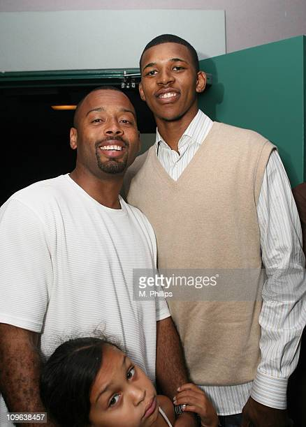 Andre Chevalier and Nick Young during 2007 Los Angeles Film Festival 'Second Chance Season' Screening at Mann Festival in Los Angeles California...