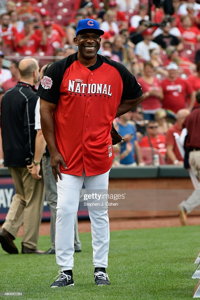 <a gi-track='captionPersonalityLinkClicked' href=/galleries/search?phrase=Andre+Dawson&family=editorial&specificpeople=206316 ng-click='$event.stopPropagation()'>Andre Dawson</a> attends the 2015 MLB All-Star Legends And Celebrity Softball Game at Great American Ball Park on July 12, 2015 in Cincinnati, Ohio.