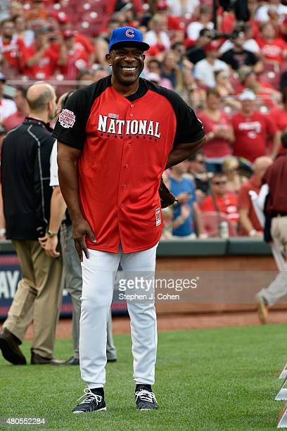 Andre Dawson attends the 2015 MLB AllStar Legends And Celebrity Softball Game at Great American Ball Park on July 12 2015 in Cincinnati Ohio