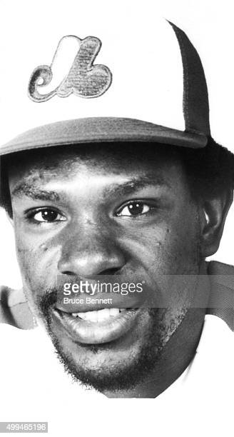 Andre Dawson of the Montreal Expos poses for a portrait in March 1982 in Montreal Quebec Canada