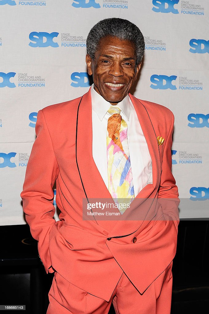 Andre De Shields attends the 2013 Mr. Abbott Award event at B.B. King Blues Club & Grill on May 13, 2013 in New York City.