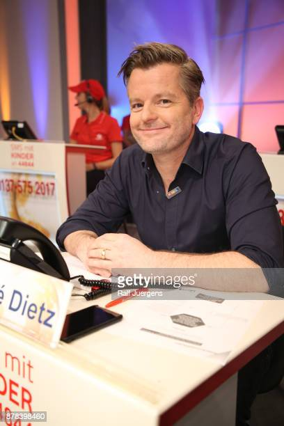 Andre Dietz attends the 22nd RTL Telethon on November 23 2017 in Huerth Germany