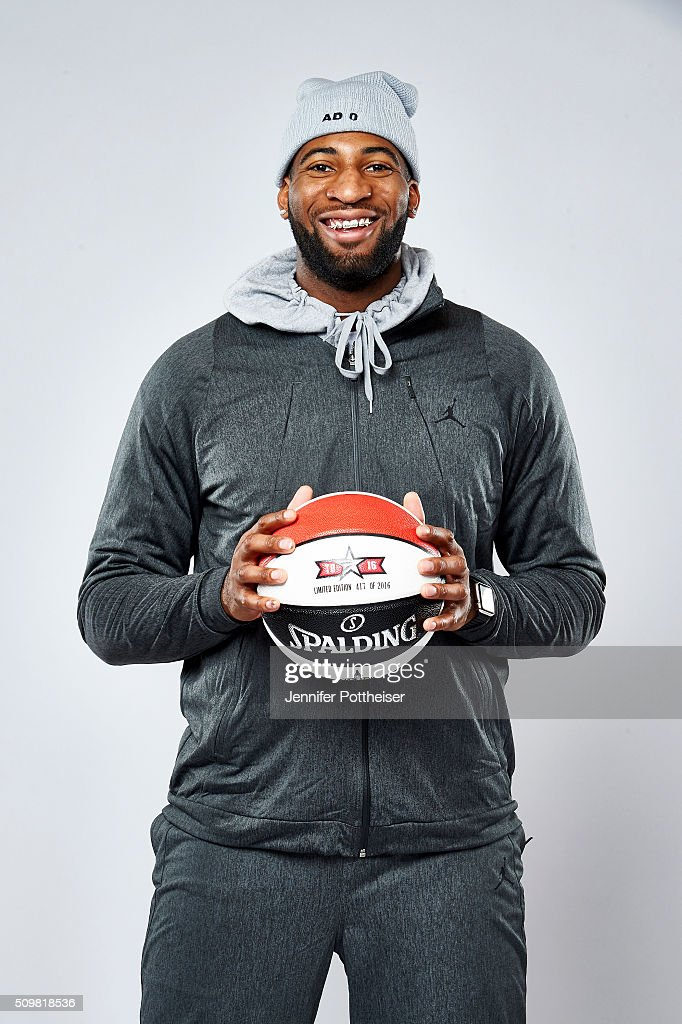 <a gi-track='captionPersonalityLinkClicked' href=/galleries/search?phrase=Andre+Drummond&family=editorial&specificpeople=7122456 ng-click='$event.stopPropagation()'>Andre Drummond</a> #0 of the Detroit Pistons poses for a portrait during NBA All-Star Weekend on February 12, 2016 at the Sheraton Centre in Toronto, Ontario Canada.