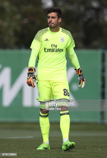 Andre Ferreira of SL Benfica B in action during the Segunda Liga match between Sporting CP B and SL Benfica B at CGD Stadium Aurelio Pereira on May 5...