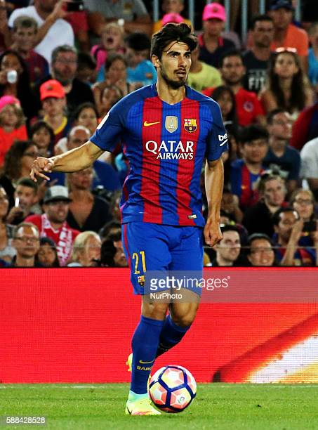 Andre Gomes during the match corresponding to the Joan Gamper Trophy played at the Camp Nou stadiium on august 10 2016