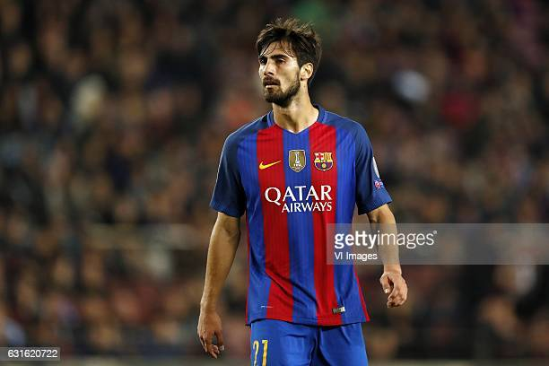 Andre Gomes of FC Barcelonaduring the UEFA Champions League group C match between FC Barcelona and Borussia Monchengladbach on December 06 2016 at...
