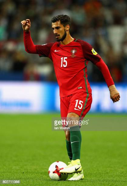 Andre Gomes of Portugal in action during the FIFA Confederations Cup Russia 2017 SemiFinal between Portugal and Chile at Kazan Arena on June 28 2017...