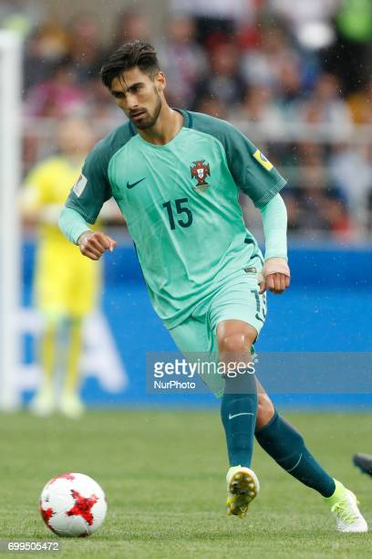 Andre Gomes of Portugal national team during the Group A FIFA Confederations Cup Russia 2017 match between Russia and Portugal at Spartak Stadium on...