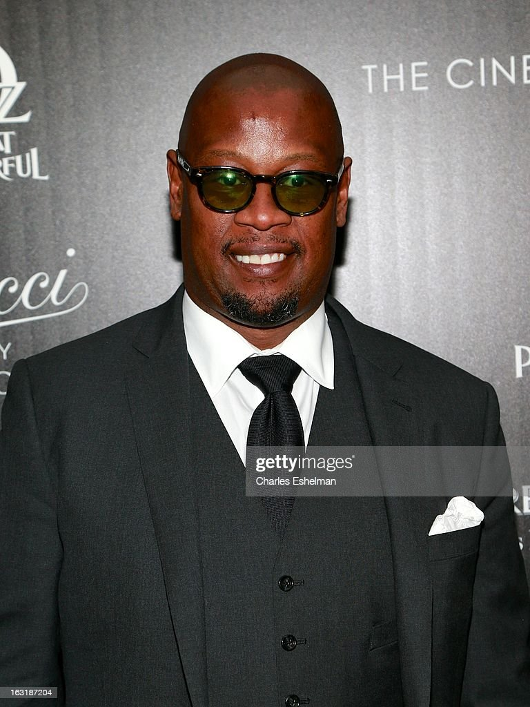 <a gi-track='captionPersonalityLinkClicked' href=/galleries/search?phrase=Andre+Harrell&family=editorial&specificpeople=601366 ng-click='$event.stopPropagation()'>Andre Harrell</a> attends the Gucci and The Cinema Society screening of 'Oz the Great and Powerful' at the DGA Theater on March 5, 2013 in New York City.