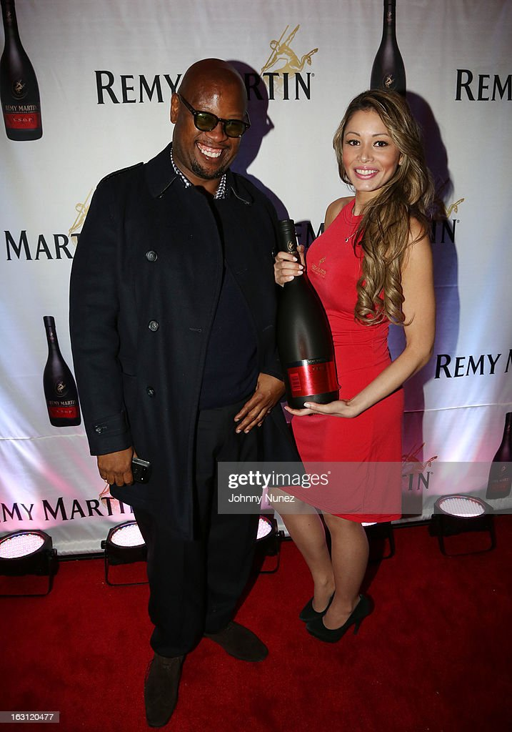 Andre Harrell (L) attends the Remy Martin V.S.O.P Ringleader Culmination Event with Robin Thicke at Marquee on March 4, 2013 in New York City.