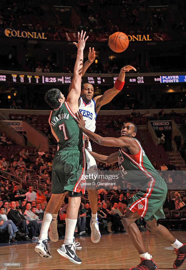 Milwaukee Bucks v Philadelphia 76ers