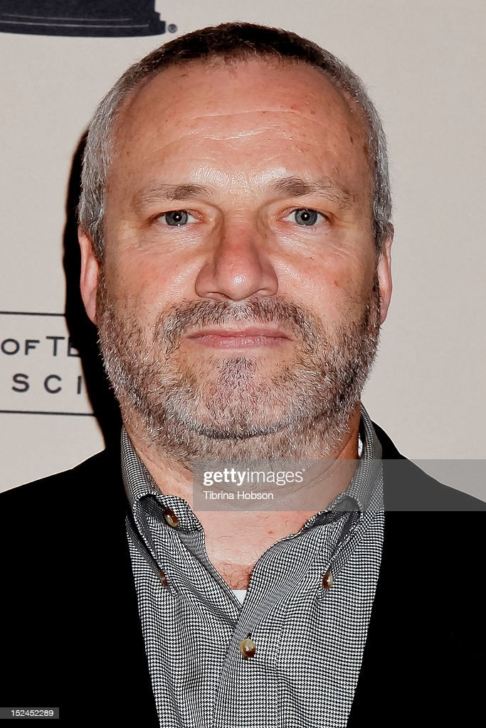 Andre Jacquemetton attends the 64th primetime Emmy Awards writers' nominee reception at Academy of Television Arts & Sciences on September 20, 2012 in North Hollywood, California.