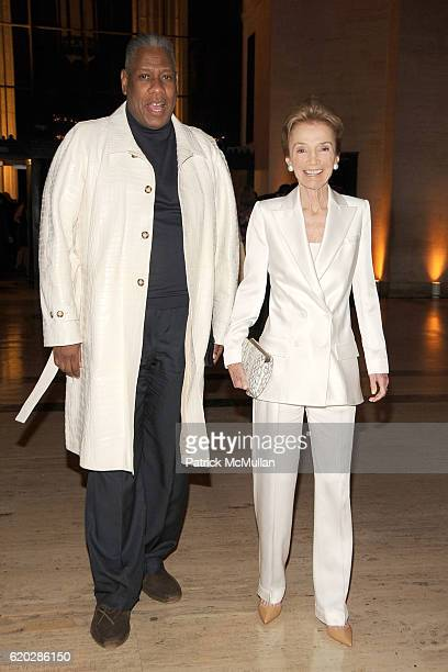 Andre Leon Talley and Lee Radziwill attend VANITY FAIR Tribeca Film Festival Party hosted by GRAYDON CARTER ROBERT DE NIRO and RONALD PERELMAN at The...