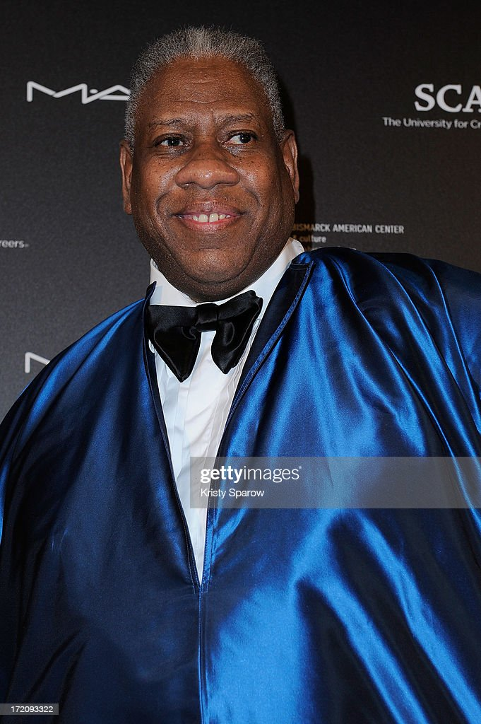 <a gi-track='captionPersonalityLinkClicked' href=/galleries/search?phrase=Andre+Leon+Talley&family=editorial&specificpeople=171165 ng-click='$event.stopPropagation()'>Andre Leon Talley</a> attends the Little Black Dress exhibition as part of Paris Fashion Week Haute-Couture F/W 2013-2014 on July 1, 2013 in Paris, France.