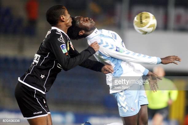 Andre LUIZ / Jacob Kapembwa MULENGA Strasbourg / Nancy 18 eme journee de Ligue 1