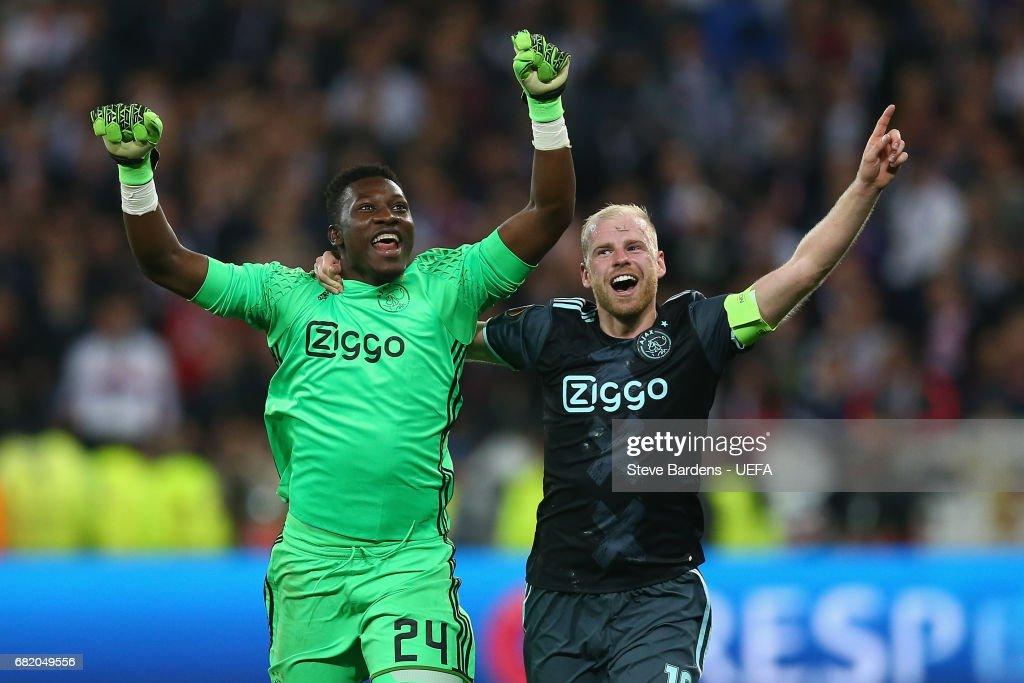 Olympique Lyonnais v Ajax Amsterdam - Uefa Europa League - Semi Final Second leg