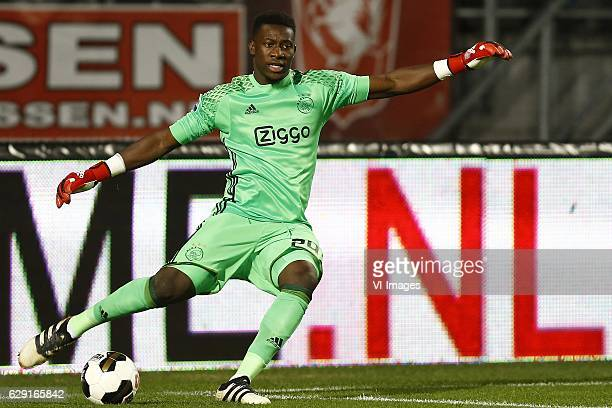 Andre Onana of Ajax Amsterdamduring the Dutch Eredivisie match between FC Twente and Ajax Amsterdam at the Grolsch Veste on December 11 2016 in...