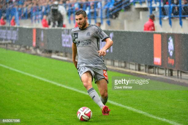 Andre Pierre GIGNAC Caen / Marseille 9eme journee de Ligue 1 Photo Dave Winter / Icon Sport