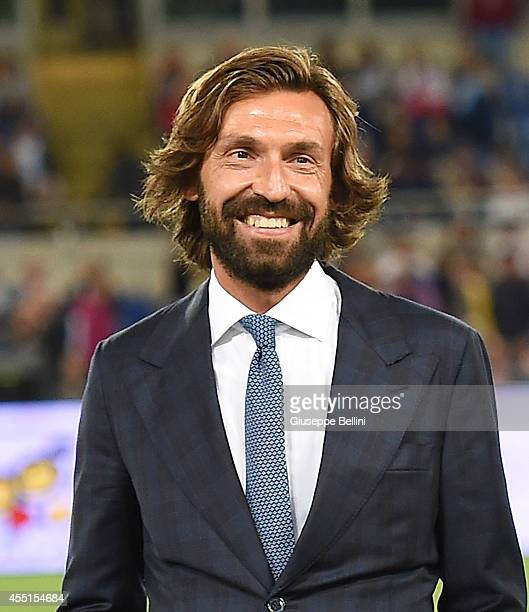 Andre Pirlo before Interreligious Match for Peace at Olimpico Stadium on September 1 2014 in Rome Italy