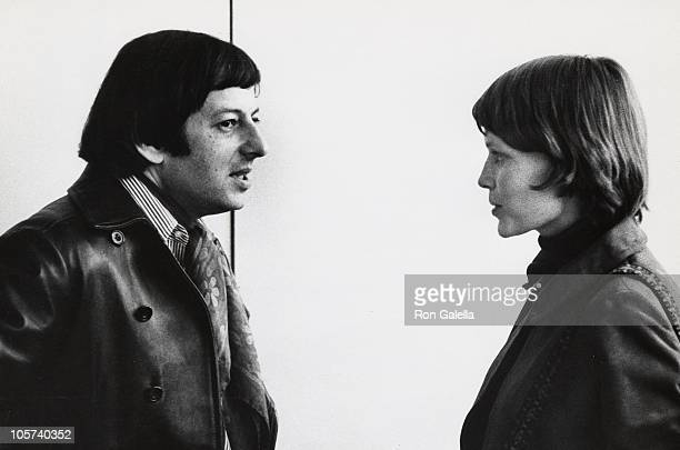 Andre Previn and Mia Farrow during Mia Farrow and Andre Previn Arrive at JFK Airport from London April 17 1970 at Kennedy International Airport in...