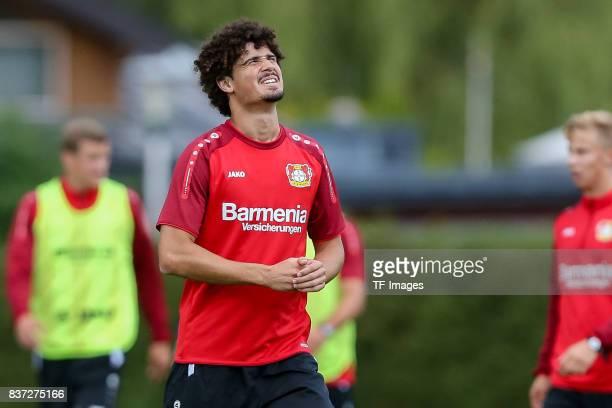 Andre Ramalho of Bayer 04 Leverkusen looks on during the Training Camp of Bayer 04 Leverkusen on July 25 2017 in Zell am Ziller Austria