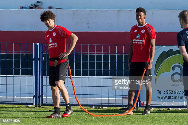 Andre Ramalho of Mainz during a Training Session at FSV Mainz 05 Training Camp on January 09 2017 in Marbella Spain