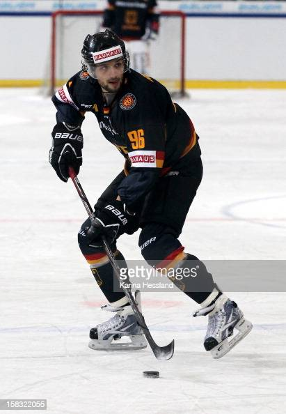 Andre Reiss of Germany during the Top Teams Sotchi match between Germany and Russia at Kuechwaldhalle on December 11 2012 in Chemnitz Germany
