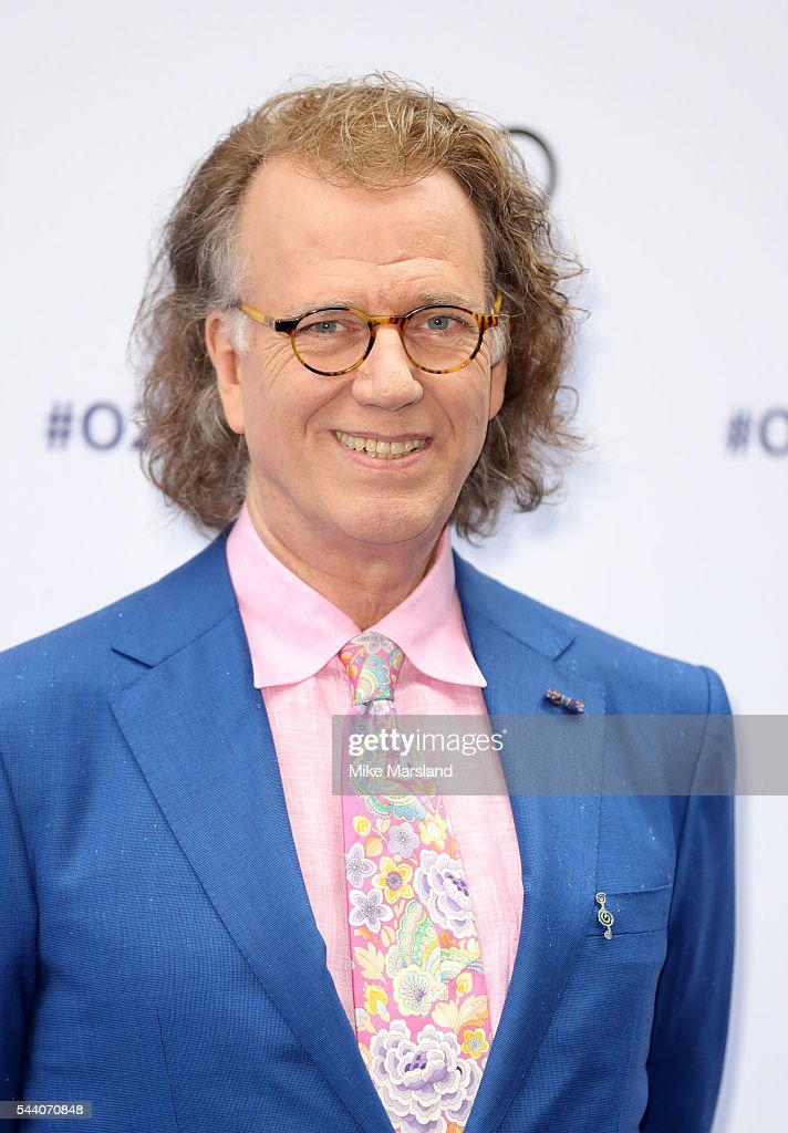 Andre Rieu arrives for Nordoff Robbins O2 Silver Clef Awards on July 1, 2016 in London, United Kingdom.