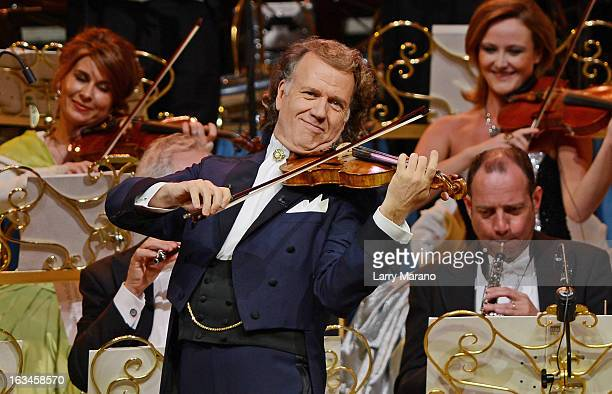 Andre Rieu performs at BBT Center on March 9 2013 in Sunrise Florida
