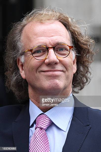 Andre Rieu sighting at BBC radio two on October 2 2012 in London England