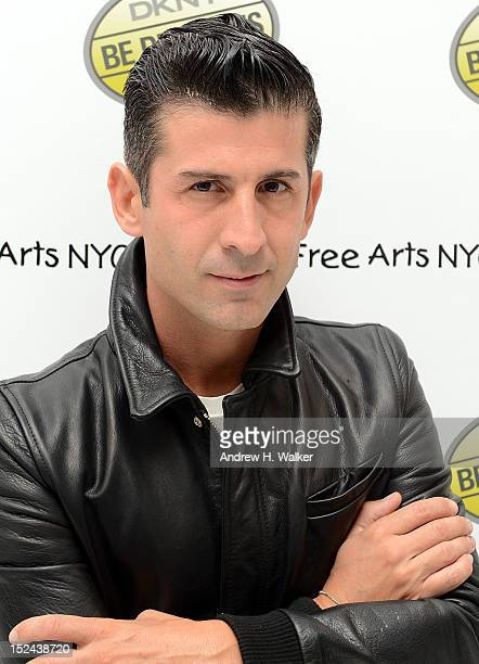 Andre Saraiva attends an evening of art fragrance music and emotion for the unveiling of DKNY Be Delicious 'INTENSE' hosted by Veronique GabaiPinsky...