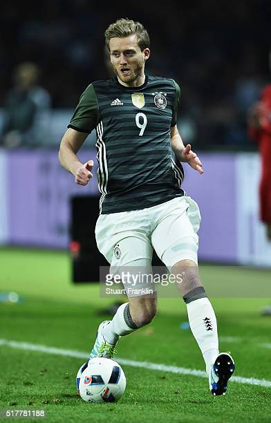 Andre Schuerrle of Germany in action during the international friendly match between Germany and England at Olympiastadion on March 26 2016 in Berlin...