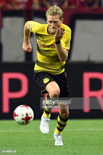 Andre Schurrle of Borussia Dortmund in action during the preseason friendly match between Urawa Red Diamonds and Borussia Dortmund at Saitama Stadium...