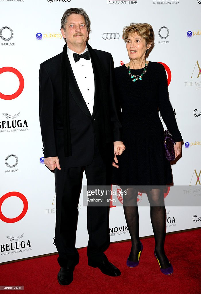 Andre Singer and Lynette Singer attend the London Critics' Circle Film Awards at The Mayfair Hotel on February 2, 2014 in London, England.