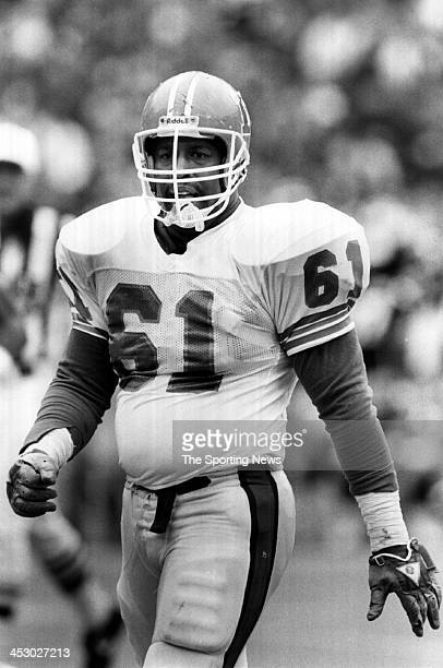 Andre Townsend of the Denver Broncos circa 1988 in Denver Colorado Townsend played for the Broncos from 198490