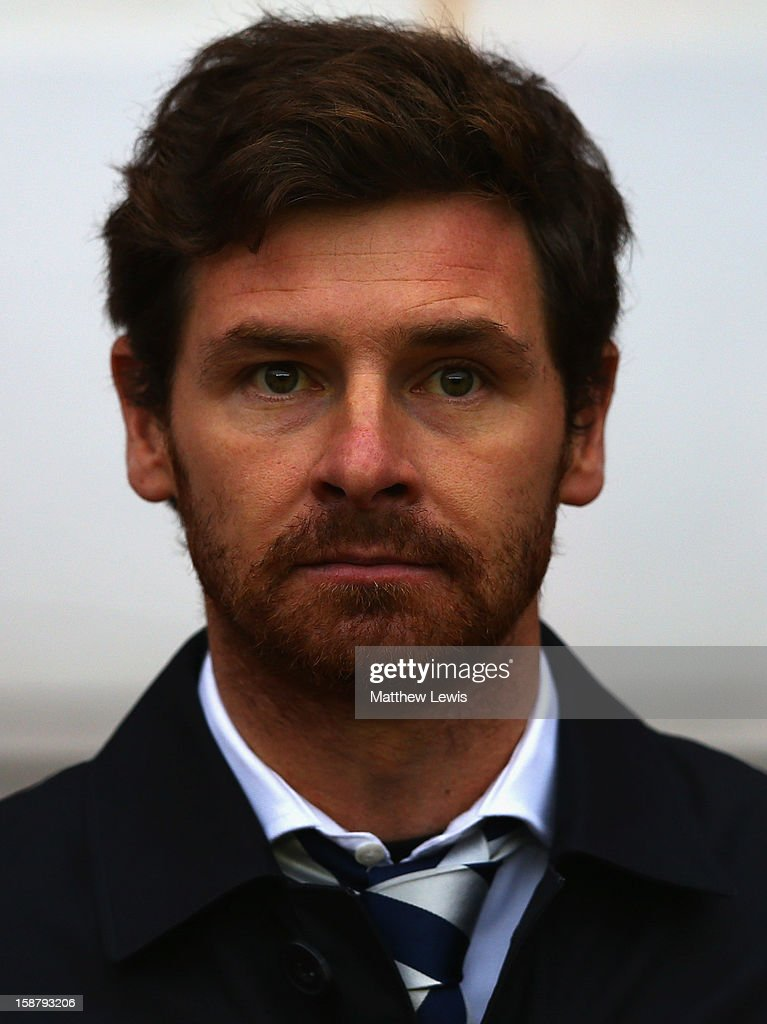 Andre Villas-Boas, manager of Tottenham Hotspur looks on during the Barclays Premier League match between Sunderland and Tottenham Hotspur at Stadium of Light on December 29, 2012 in Sunderland, England.