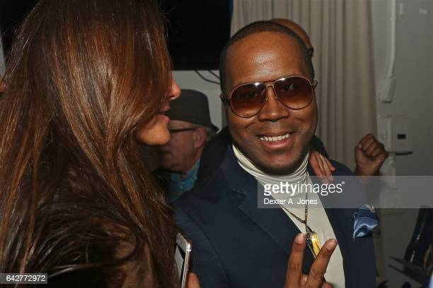 Andre Von Boozier attends the Von Boozier launch at the Refinery Hotel on February 17 2017 in New York City