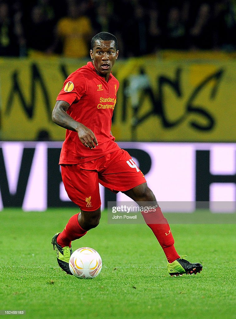 Andre Wisdom of Liverpool during the UEFA Europa League match between BSC Young Boys and Liverpool FC at Stade de Suisse, Wankdorf on September 20, 2012 in Bern, Switzerland.
