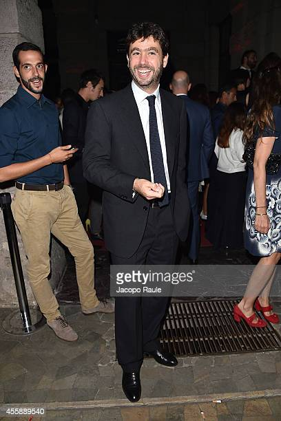 Andrea Agnelli attends Vogue Italia 50th Anniversary during Milan Fashion Week Womenswear Spring/Summer 2015 on September 21 2014 in Milan Italy