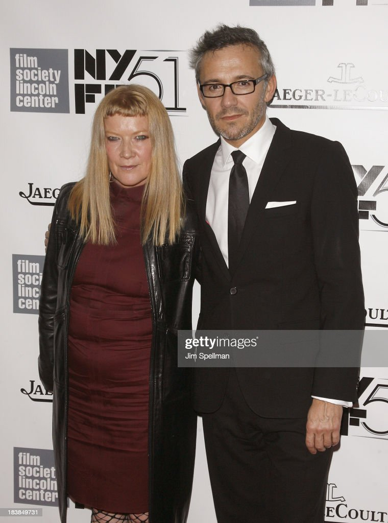 <a gi-track='captionPersonalityLinkClicked' href=/galleries/search?phrase=Andrea+Arnold&family=editorial&specificpeople=606927 ng-click='$event.stopPropagation()'>Andrea Arnold</a> and Laurent Vinay attend the Gala Tribute To Ralph Fiennes during the 51st New York Film Festival at Alice Tully Hall at Lincoln Center on October 9, 2013 in New York City.