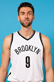 Andrea Bargnani of the Brooklyn Nets poses for a photo during media day on September 28 2015 in East Rutherford NJ NOTE TO USER User expressly...
