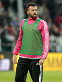 Andrea Barzagli before the serie A match between Juventus FC and AC Milan at the juventus stadium on november 21 2015 in torino italy